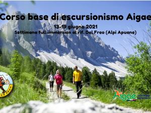 Corso Base Escursionismo AIGAE – Alpi Apuane