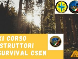 Istruttori Survival CSEN