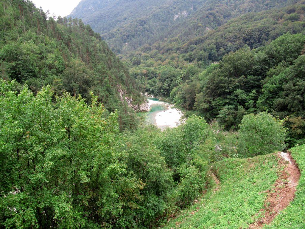 Vista sul torrente Arzino