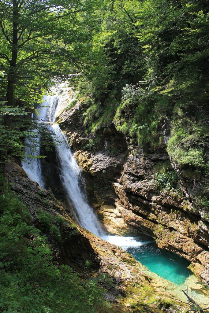 cascate del'arzino