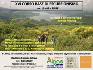 XVI Corso base di Escursionismo